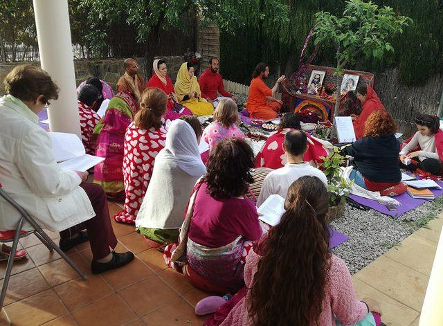 visita de Swami Anashuya